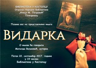 Poster Vidarka 1