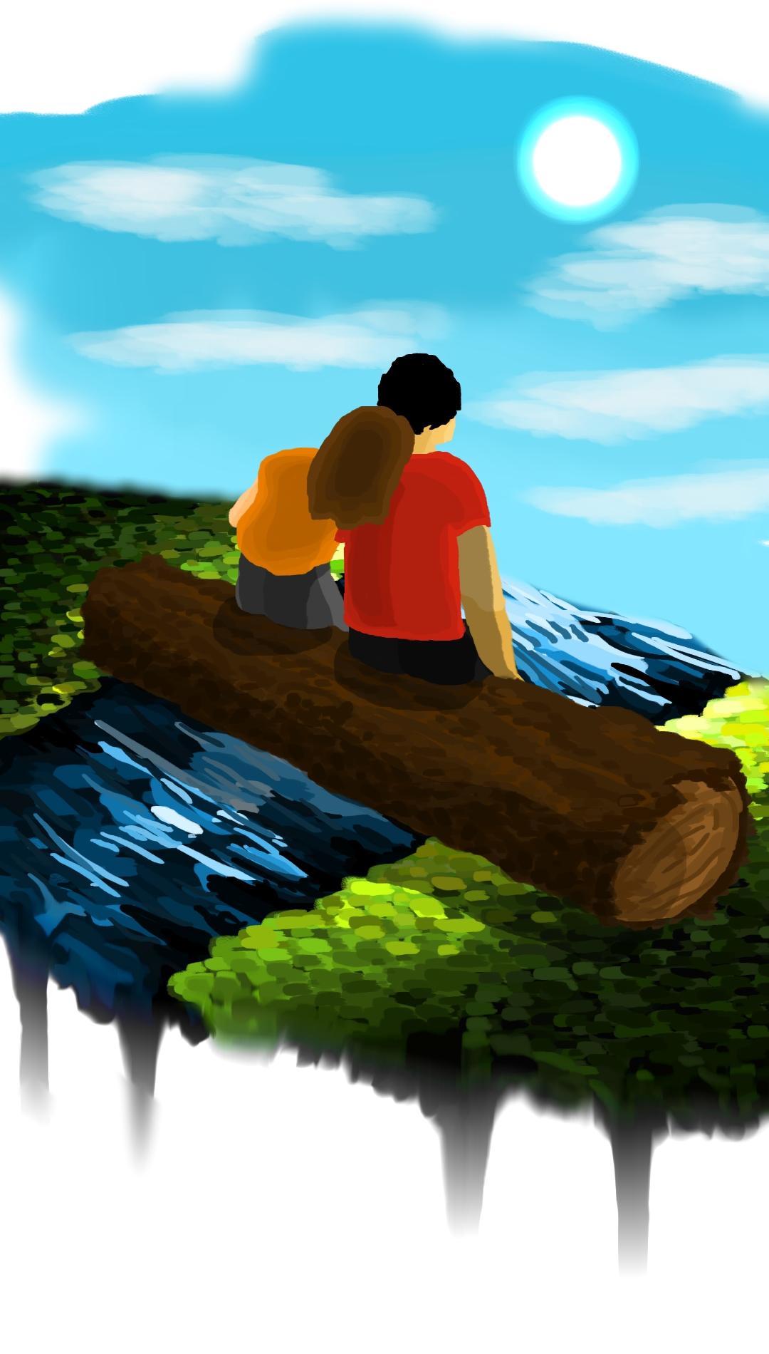 Ilustracija uz pesmu Lepota