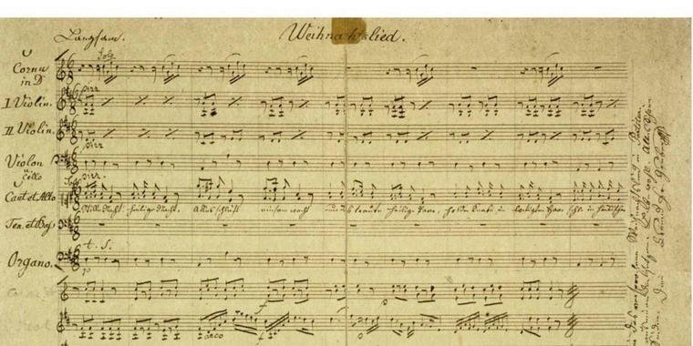 Груберов нотни запис