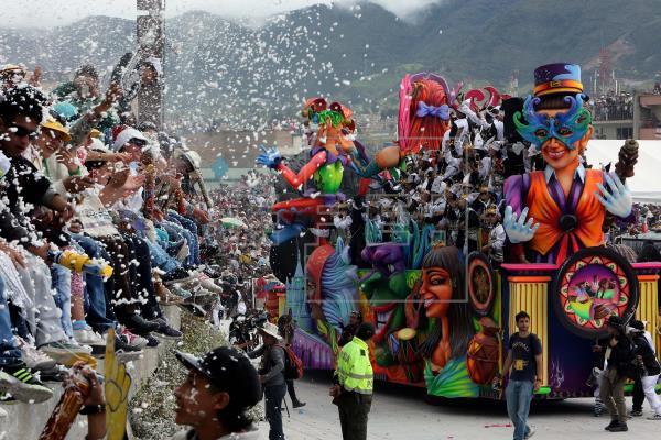 Kolumbija carnival do negro y blanco