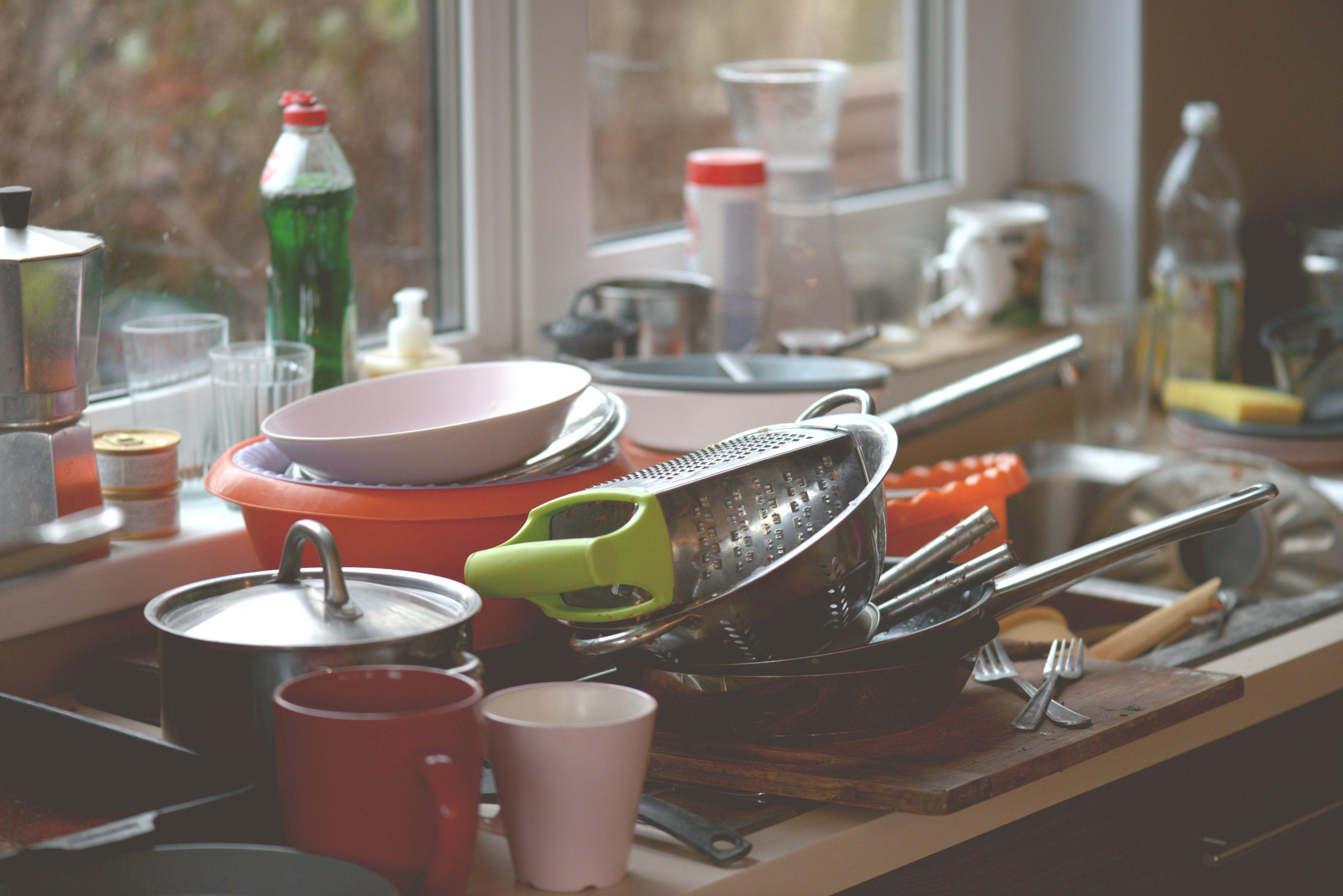 prljavi sudovi